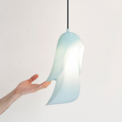 Moustache Cape Pendant Light Blue