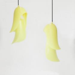 Moustache Cape Pendant Light Yellow