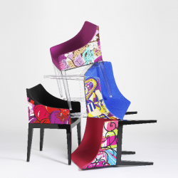 Kartell Madame Padded armchair