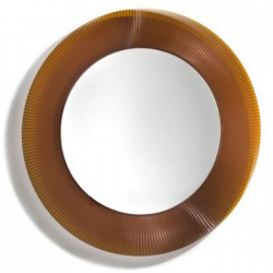 Kartell All Saints Mirror Amber
