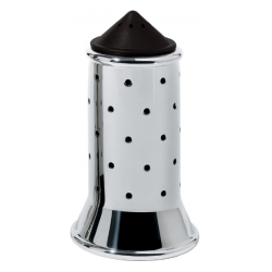 Alessi Michael Graves Salt Shaker Black