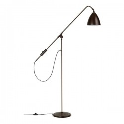 Bestlite BL4 Floor Lamp, black brass