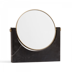 Menu Pepe Marble Mirror Black