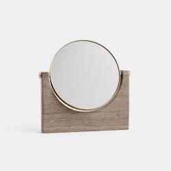 Menu Pepe Marble Mirror Brown