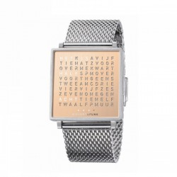 Biegert & Funk QLOCKTWO W35 Copper Watch