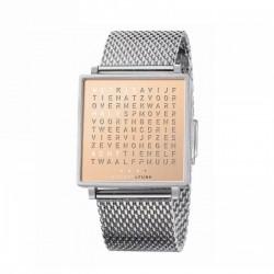 Biegert & Funk QLOCKTWO W35 Copper Watch