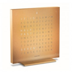 Biegert & Funk Qlocktwo Touch Golden Legend