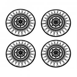Driade Italic Lace Round Coaster
