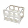 Magis Bottle Rack Matt White
