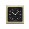 LEFF amsterdam Block Clock Brass