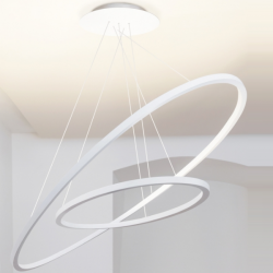Nemo  Ellisse Double Suspension Lamp