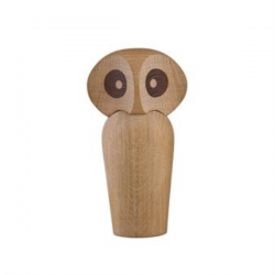 Architectmade Wooden Owl Small