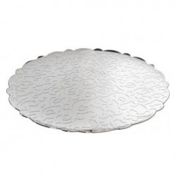 Alessi Dressed Tray Stainless steel