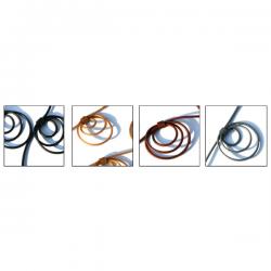 Materia Design Ola Pvc Necklace Colors