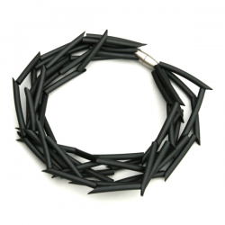 Materia Design Twiggy PVC Multi Necklace