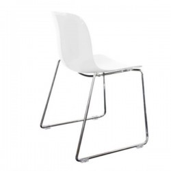 Magis Troy Stackable chair - Polycarbonate & sled feet