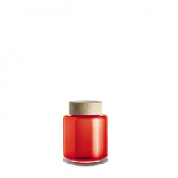 Holmegaard Storage Jar Orange
