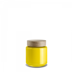 Holmegaard Palet Storage Jar Yellow