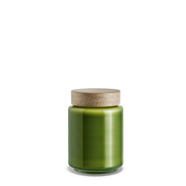 Holmegaard Palet Storage Jar Green