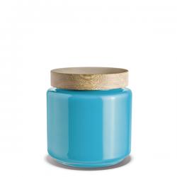 Holmegaard Storage Jar Blue