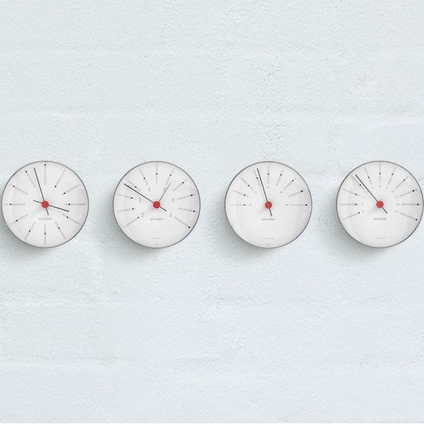 Rosendahl Arne Jacobsen Bankers Weather Station 4pcs Set