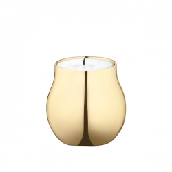 Georg Jensen Cafu Tea Light Holder Gold Plated