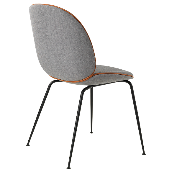 Gubi Beetle Chair fully upholstered with Remix Fabric