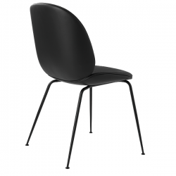 Gubi Beetle Chair fully upholstered with Leather