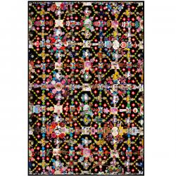 Moooi Obsession Black Signature Carpet Marian Bantjes