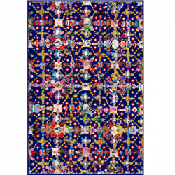 Moooi Obsession Blue Signature Carpet Marian Bantjes