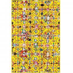 Moooi Obsession Yellow Signature Carpet Marian Bantjes