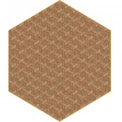 Moooi Hexagon Brown Signature Carpet