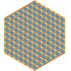 Moooi Hexagon Multi Signature Carpet