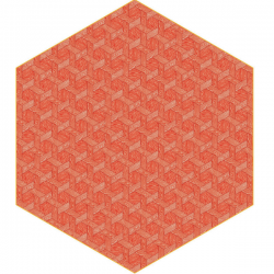 Moooi Hexagon Red Signature Carpet