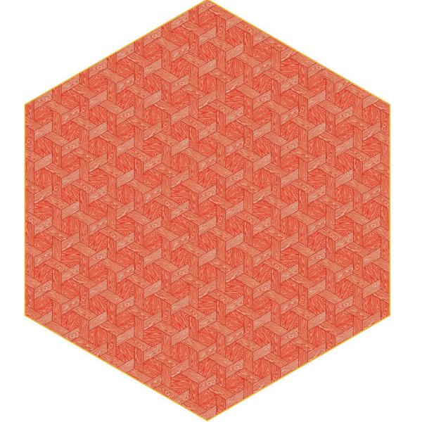 Moooi Hexagon Red Signature Carpet