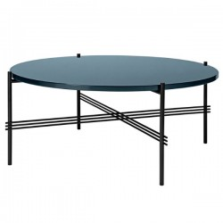 Gubi TS Coffee Table 80cm Glass