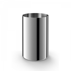 Zack Cupa Mirror Polished Tumbler