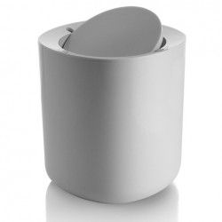 Alessi Birillo Bathroom Waste Bin White