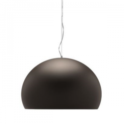 Kartell Fl/y Icon Suspension Lamp Solid Color