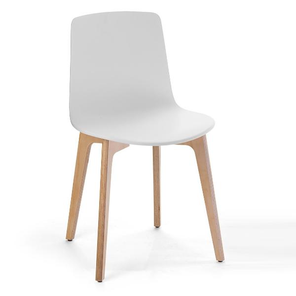 Enea Lotus Wood Chair