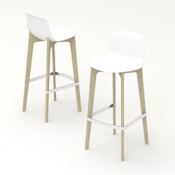 Enea Lottus Stool Wood