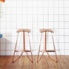 ClassiCon Triton Stool Copper Base