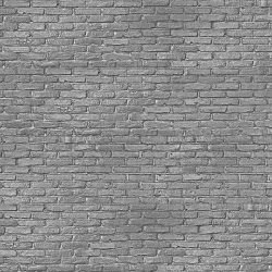 NLXL Silver Grey Brick Wallpaper