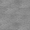 NLXL Silver Grey Brick Wallpaper