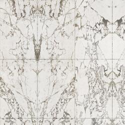 NLXL White Marble Wallpaper