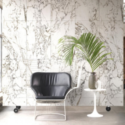 NLXL White Marble Wallpaper