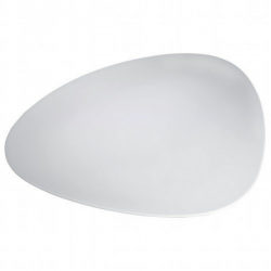 Alessi Colombina Collection Large Saucer in Bone China