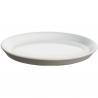 Alessi Tonale Plate in Stoneware Light Grey