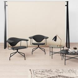 Gubi Masculo Lounge Swivel Chair