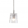 Ebb & Flow Edgar crystal lamp, single pendant